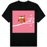 Owl on a Branch T-shirts