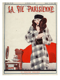 La Vie Parisienne, Rene Vincent, 1924, France Giclee Print