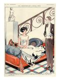 La Vie Parisienne, F Fabiano, 1924, France Giclee Print