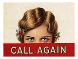 Call Again, USA Giclee Print