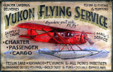 Yukon Flying Vintage Wood Sign