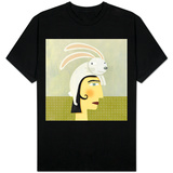 Rabbit Hat T-Shirt