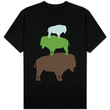 Green Buffalo T-Shirt