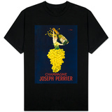 France - Joseph Perrier Champagne Promotional Poster Shirt