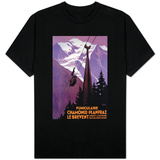 Chamonix-Mont Blanc, France - Funicular Railway to Brevent Mt. T-shirts