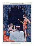 La Vie Parisienne, Vald'es, 1923, France Art