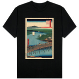 Great Bridge at Senju T-shirts