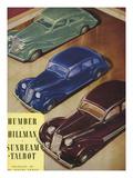 Humber, Hillman, Sunbeam-Talbot, UK Giclee Print