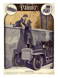 Daimler, Georges Leonnec, 1912, France Giclee Print