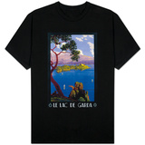 Italy - Lake Garda Travel Promotional Poster Shirts