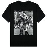 Paul Gascoigne and Vinnie Jones T-shirts