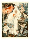 La Vie Parisienne, Vald'es, 1919, France Giclee Print