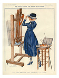 La Vie Parisienne, Leo Fontan, 1919, France Giclee Print