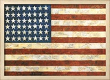 Flag, 1954 Posters by Jasper Johns