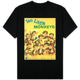 Ten Little Monkeys T-Shirts