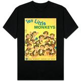 Ten Little Monkeys T-skjorte