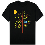 Blue Songbird T-shirts