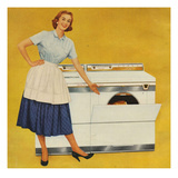 Washing Machines, USA Giclee Print