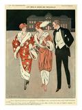 La Vie Parisienne, Touraine, 1912, France Giclee Print