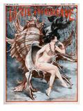 La vie Parisienne, Cheri Herouard, 1923, France Prints