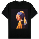 The Girl With The Pearl Earring T-skjorte