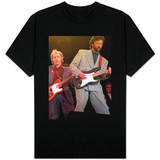 Eric Clapton and Mark Knopfler at the Nelson Mandela Concert, 1988 T-shirts