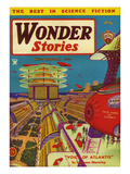 Wonder Stories, 1934, USA Giclee Print