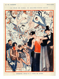 La Vie Parisienne, Vald'es, 1924, France Prints