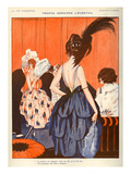 La Vie Parisienne, Julien Jacques Leclerc, 1920, France Prints