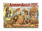 Barnum & Bailey's, 1915, USA - Giclee Baskı