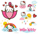 Hello Kitty Decals Stickers