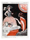La Vie Parisienne, Leo Fontan, France Giclee Print