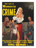 True Cases Of Women In Crime, 1950, USA Julisteet