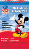 Mickey Mouse Stickerland Activity Pads 16 Pages Craft Supplies