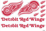 Detroit Red Wings Mini Foldover Stickers Stickers