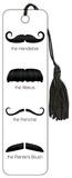 Mustache Tasseled Bookmark Bookmark