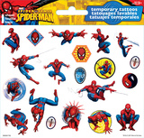 Spider-Man Temporary Tattoos Temporary Tattoos