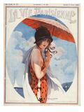 La Vie Parisienne, Maurice Milliere, 1924, France Giclee Print