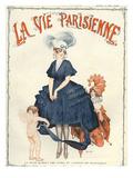 La Vie Parisienne, Herouard, 1916, France Print