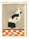 La Vie Parisienne, C Martin, 1918, France Giclee Print