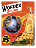 Wonder Stories, 1932, USA Giclee Print