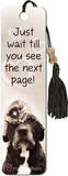 Just Wait Until You See Beaded Bookmark Bookmark