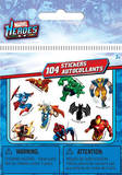 Marvel Superheros Bitty Bits Stickers Stickers