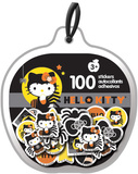 Hello Kitty Halloween Sticker Ornaments Stickers