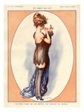 La Vie Parisienne, Maurice Milliere, 1920, France Print