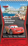 Cars 2 Stickerland Activity Pads 16 Pages Craft Supplies