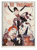 La Vie Parisienne, Leo Pontan, 1922, France Giclee Print