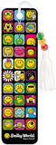 Smiley World Grid Collector's Beaded Bookmark Bookmark