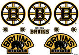 Boston Bruins Mini Foldover Stickers Stickers