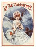 La Vie Parisienne, Maurice Milliere, 1922, France Giclee Print